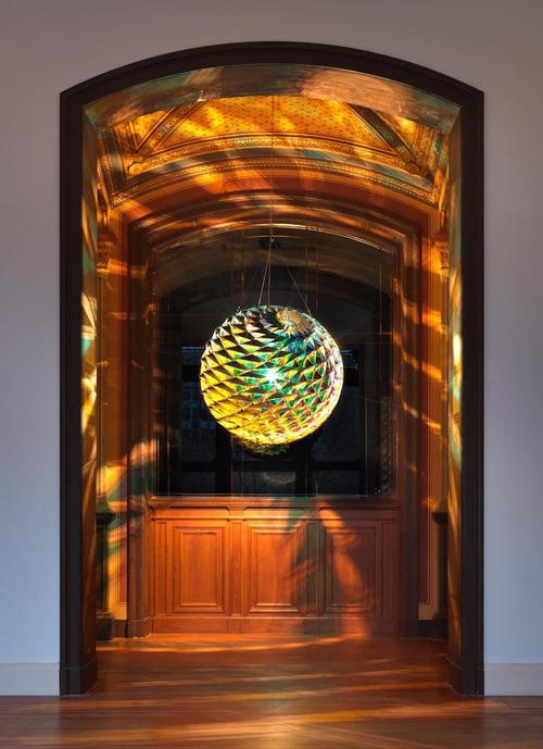 Kaleidoscopic Glass Installations