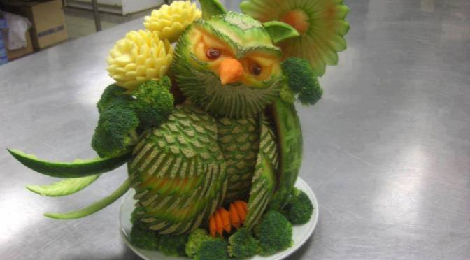 Awesome Food carvings – Part II