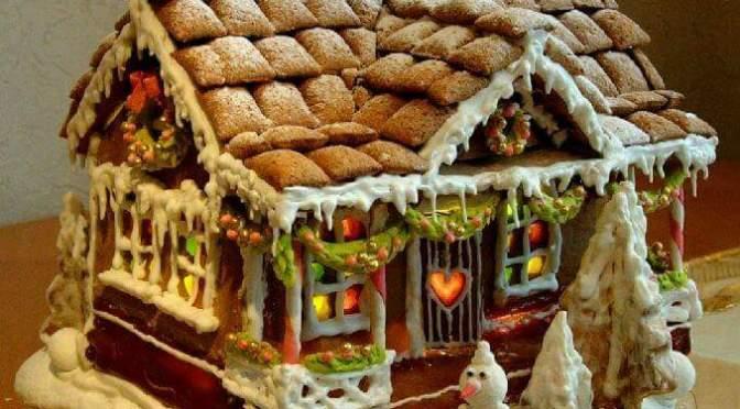 Creative house cakes
