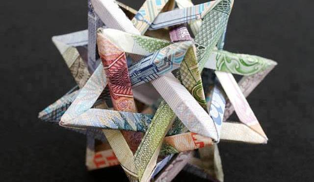 Beautiful Art of Paper folding: Geometric Designs of Currency