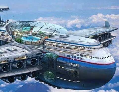 Three floors first aeroplane in the world – The Future of Aviation Industry