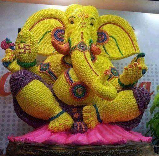 Creative Ganeshas at this festive season