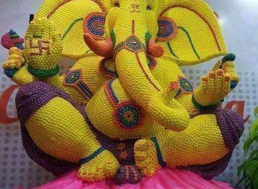 Creative Ganeshas at this festive season