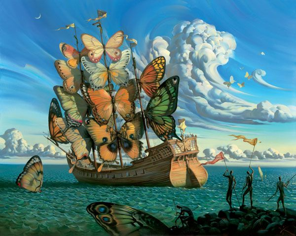Surrealistic illustrations by Vladimir Kush