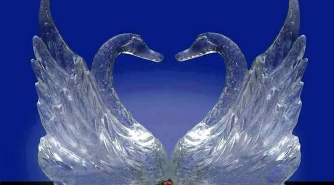 Amazing snow art