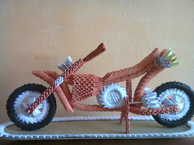 Artistic 3D Origamy