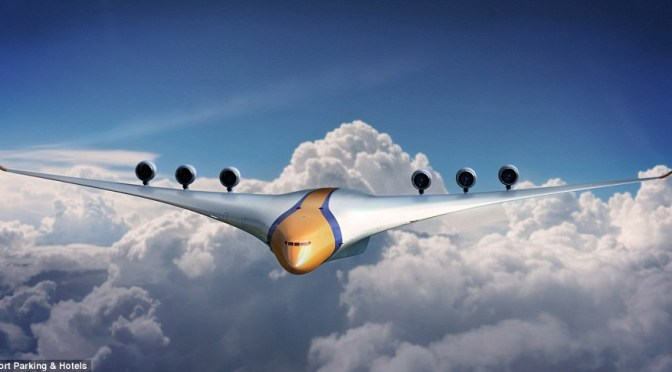 A glimpse of what air travel will look like in 2050?