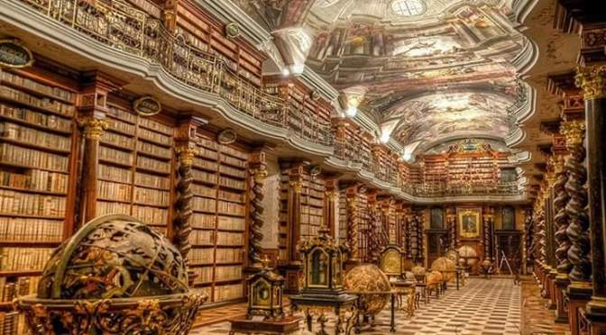 Have a look at World's Most Beautiful Library on World Books Day