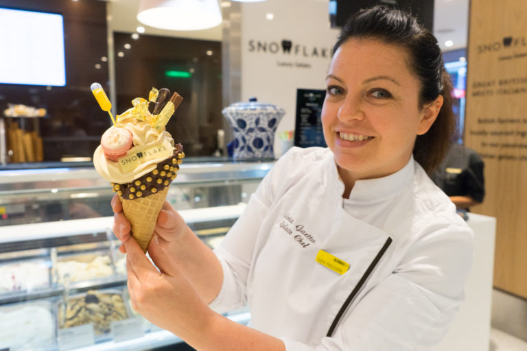 What's so special about a £99 ice-cream adding it to the list of the World's most expensive ice-cream?